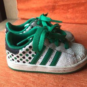 Adidas originals superstar 2 polka dot